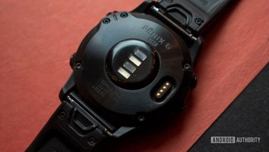 garmin fenix 6 pro heart rate sensor