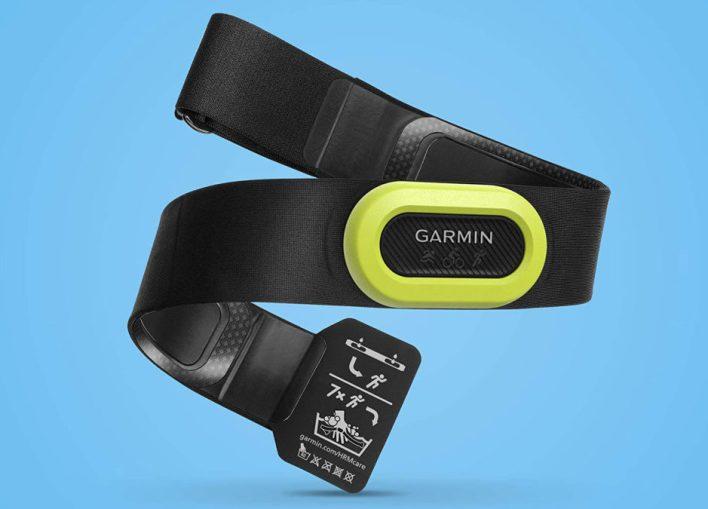 حزام الصدر من جارمين hrm pro لمراقبة معدل ضربات القلب