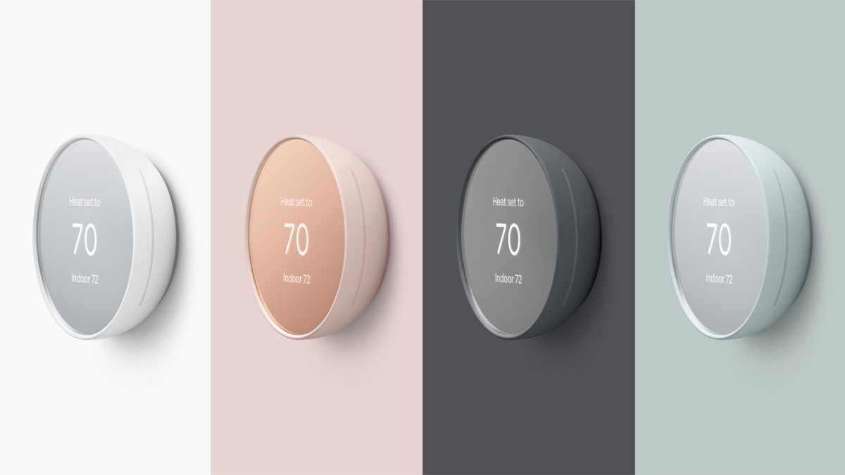 nest thermostat 2020 price colors