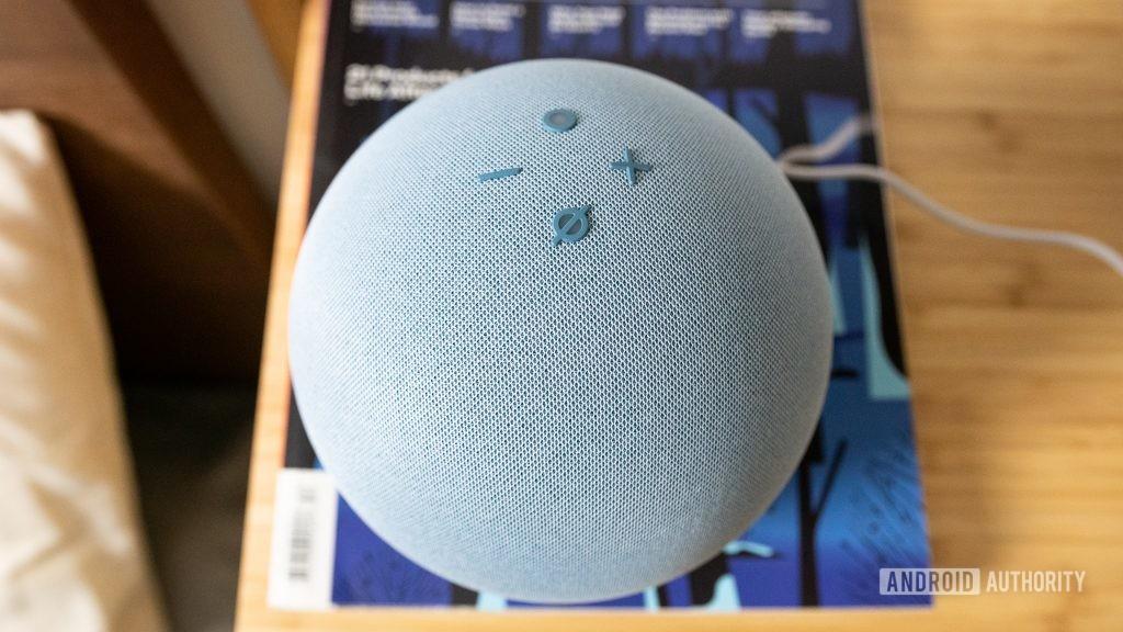 Кнопки управления Amazon Echo 4-го поколения