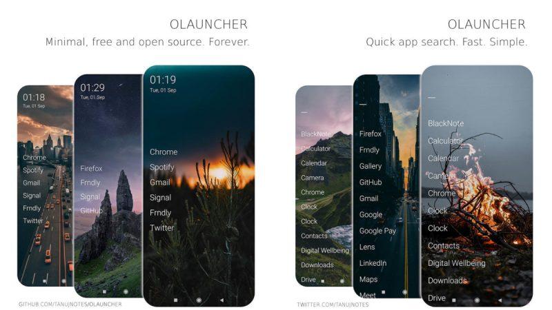 Olauncher screenshot