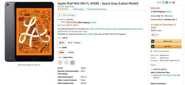 Apple iPad Mini deal Amazon
