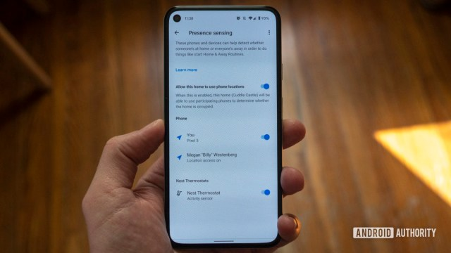 google nest thermostat review google home app presence sensing