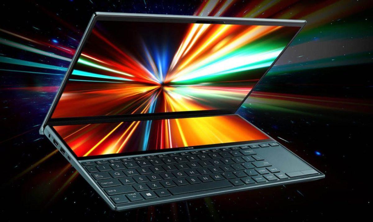 Asus ZenBook Duo Promo Shot