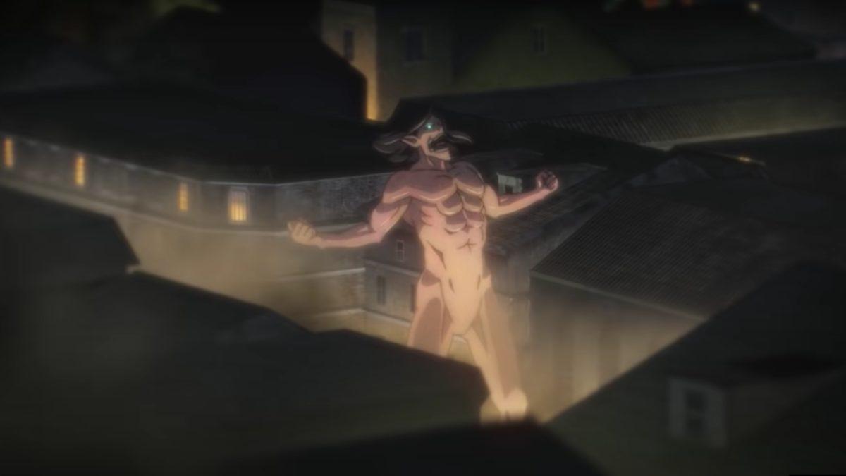 Captura de tela de ataque a titã