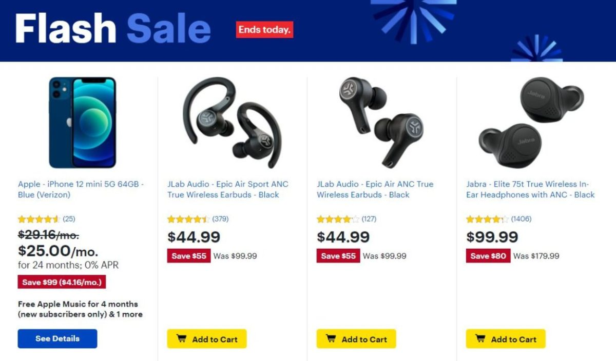 Best Buy Flash Sale 22 de dezembro de 2020