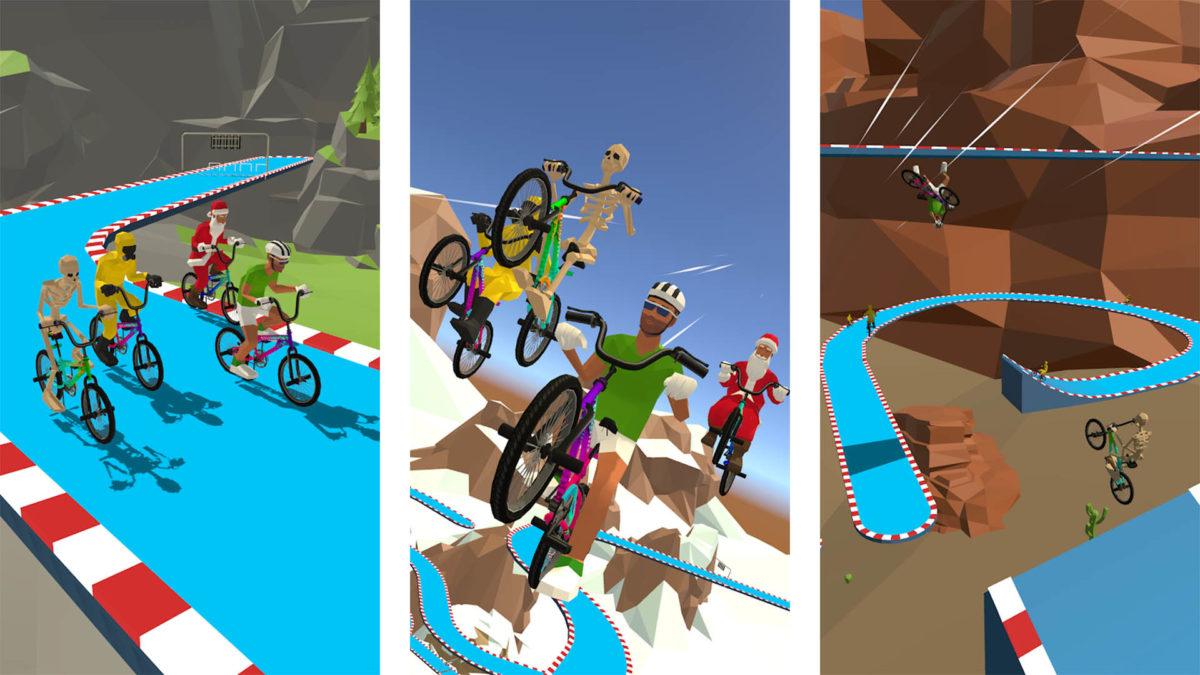 Captura de tela do Bikeparkio