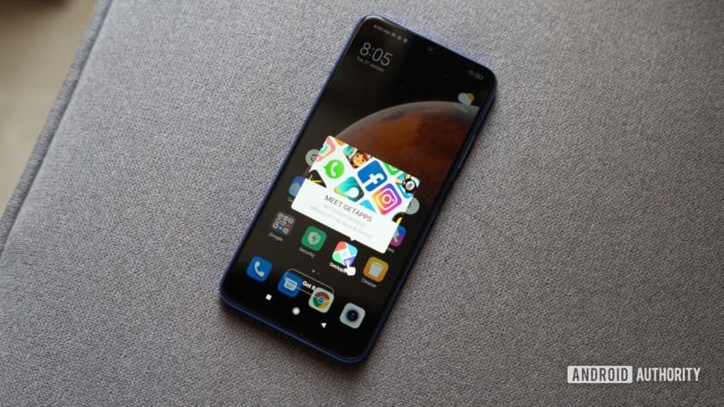 Redmi 9 Power preloaded apps