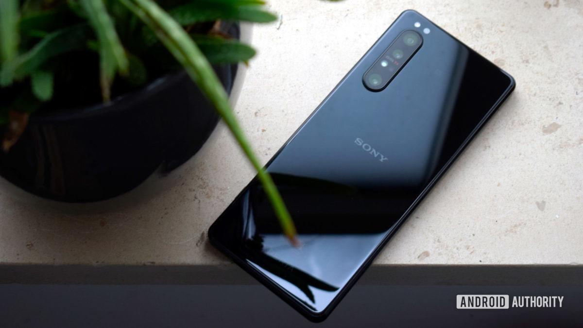 Sony Xperia 1 II de volta