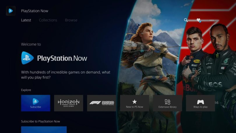 ps5 ps now