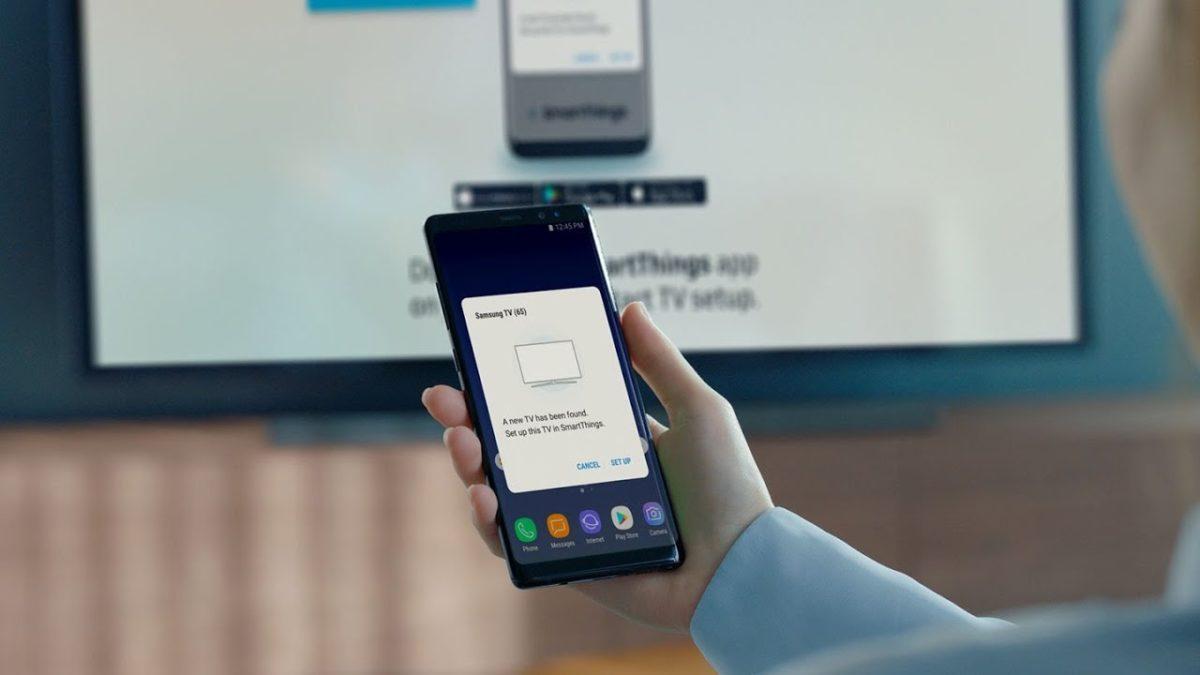 samsung smart tv apps smartthings