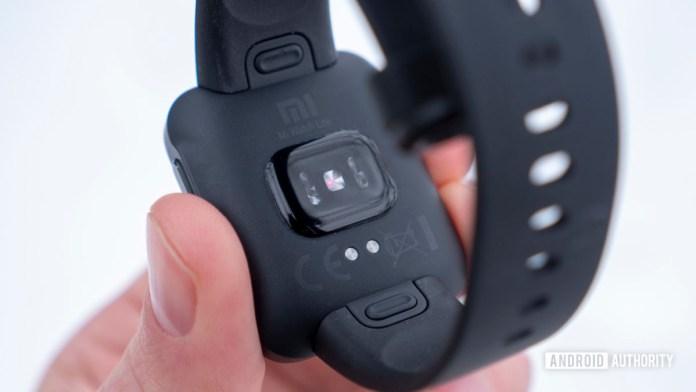 xiaomi mi watch lite review heart rate sensor 2