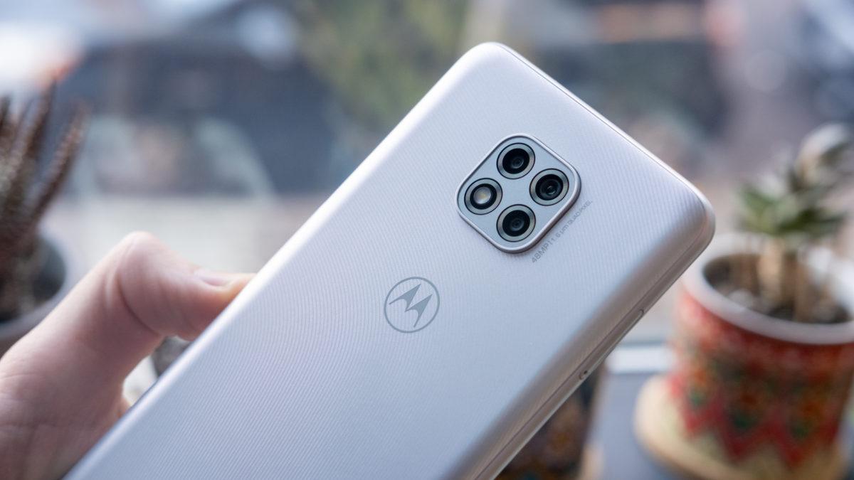 Macro da câmera Moto G Power 2021
