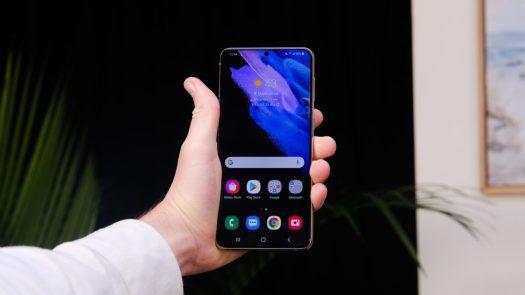 Samsung Galaxy S21 Plus display 1