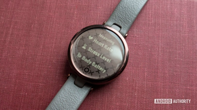 garmin lily review heart rate stress body battery
