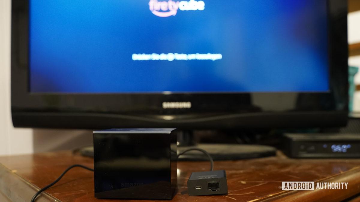 Iniciando Amazon Fire TV Cube