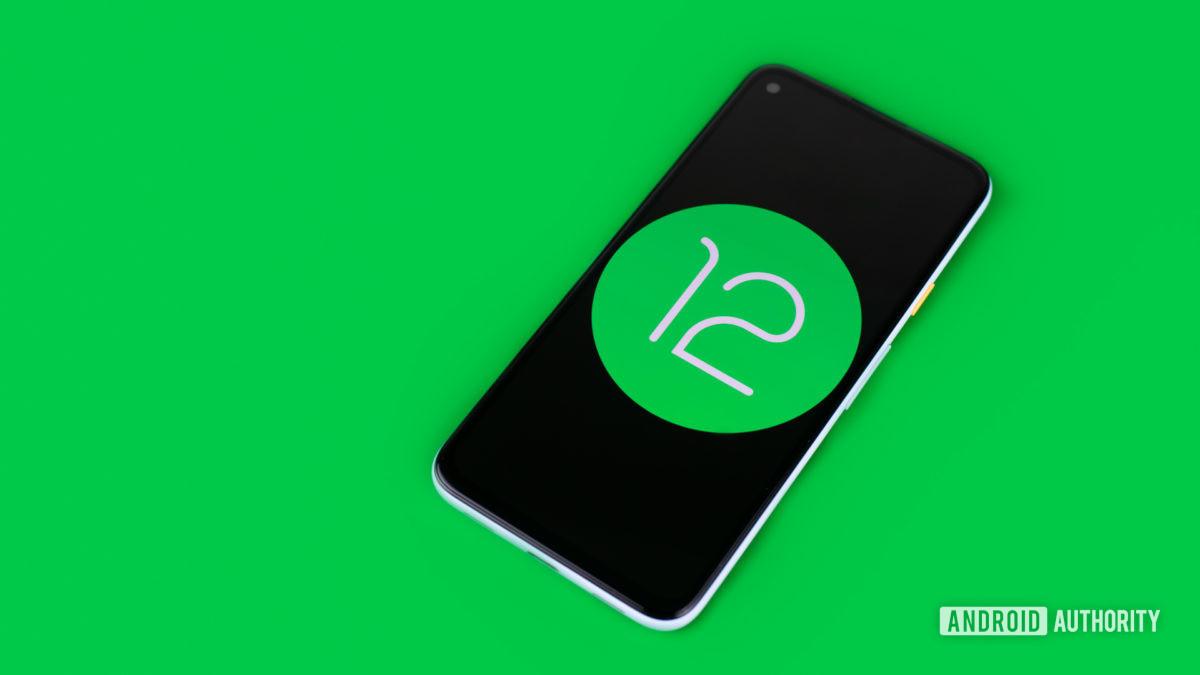 Android 12 стоковая фотография 2