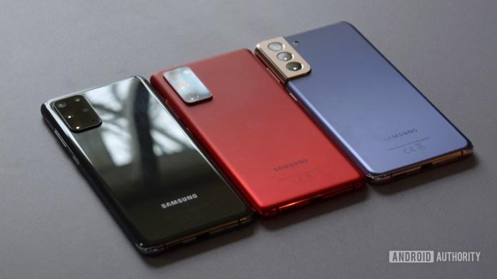 Samsung Galaxy S21 Plus vs Galaxy S20 Plus vs Galaxy S20 FE