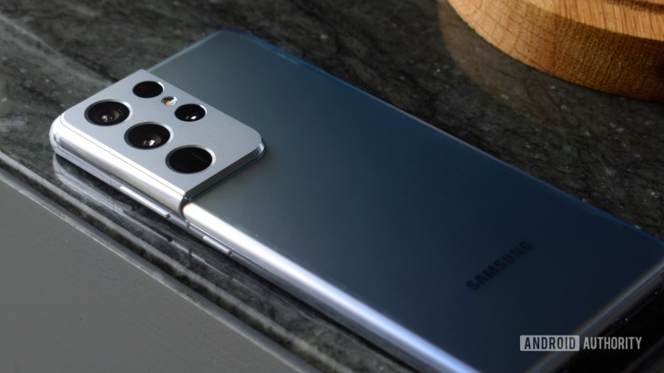 Samsung Galaxy S21 Ultra Silver back