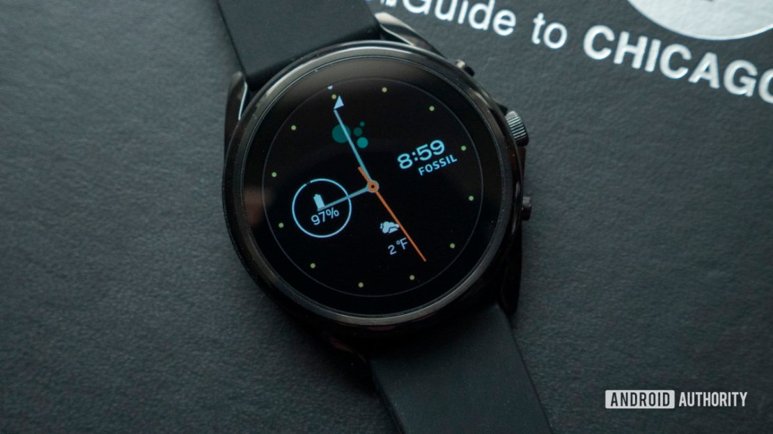 fossil gen 5 lte review watch face display 1