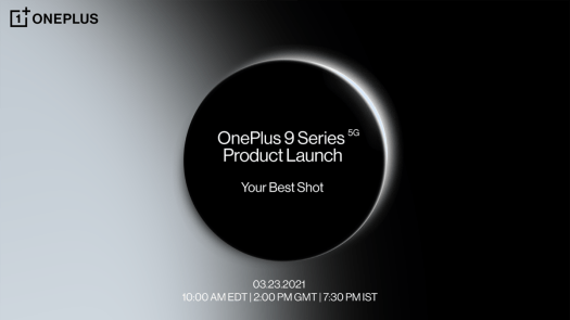 OnePlus 9 Series Launch Annoucnement