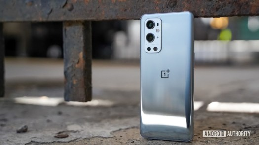 OnePlus 9 Pro more right rear profile