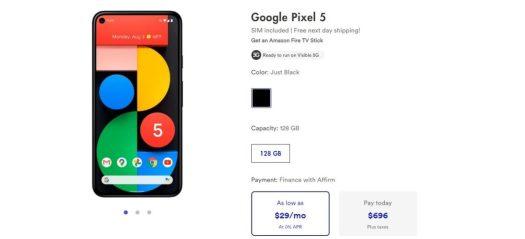 Pixel 5 Visible Deal