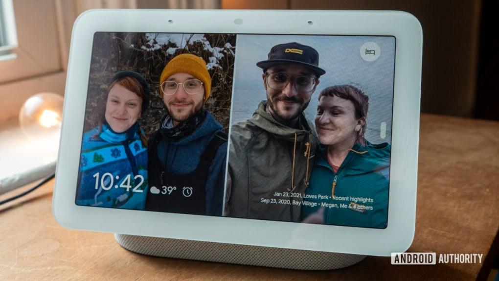 google nest hub second generation review photo frame 1