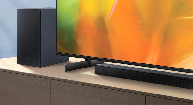 Samsung HW A550 2 Channel Soundbar Promo Image