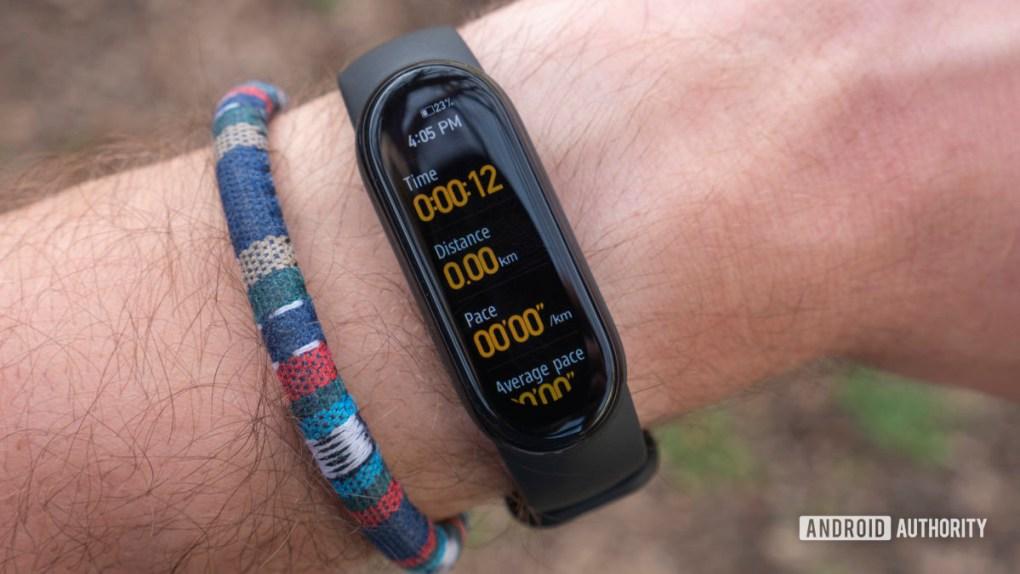 xiaomi mi band 6 review workout activity details running