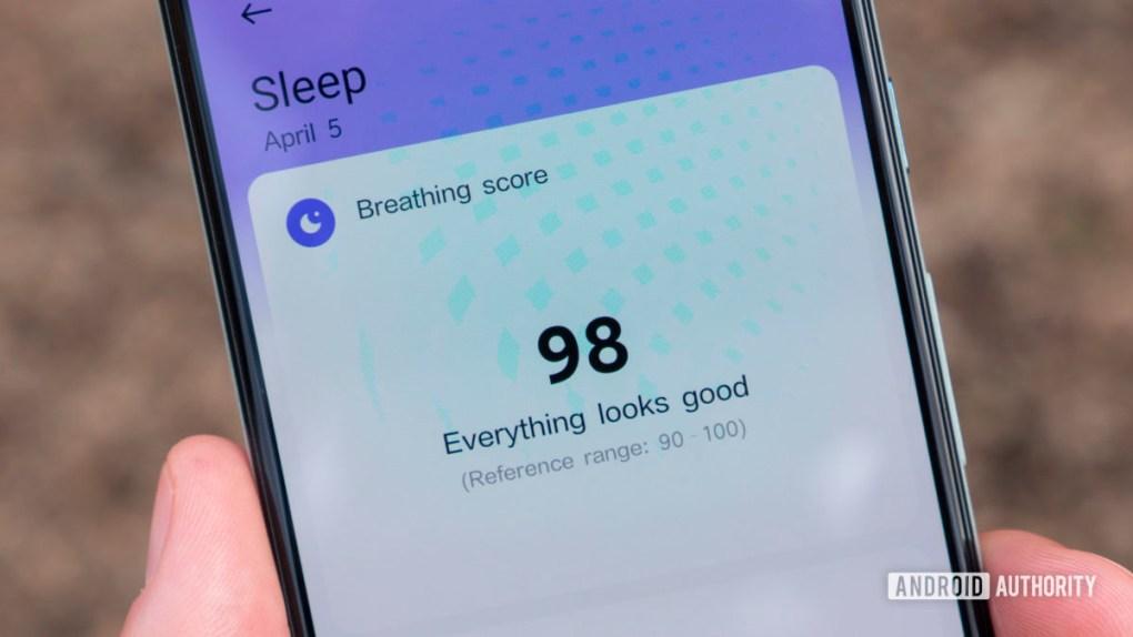 xiaomi mi band 6 review xiaomi wear app breathing score sleep tracking