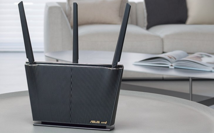 Asus Wi Fi 6 Dual Band Gigabit Wireless Router Promo Image
