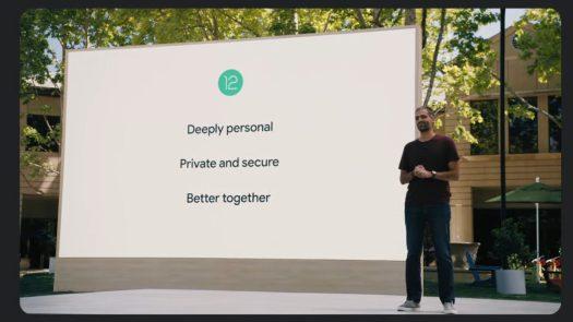 Google IO 2021 Sameer Samat talks Android 12 1