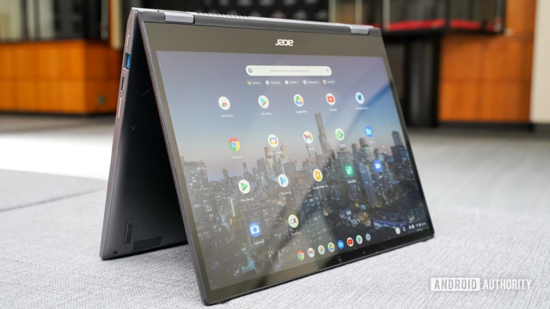 Acer Chromebook Spin 713 tent mode