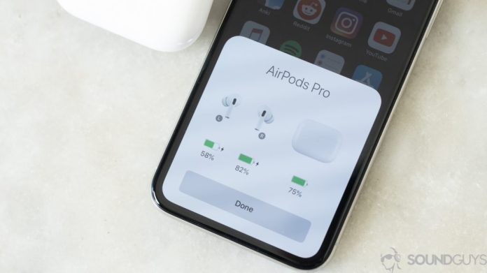AirPods Pro Connecting