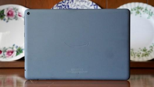 Amazon Fire HD 10 Plus rear panel