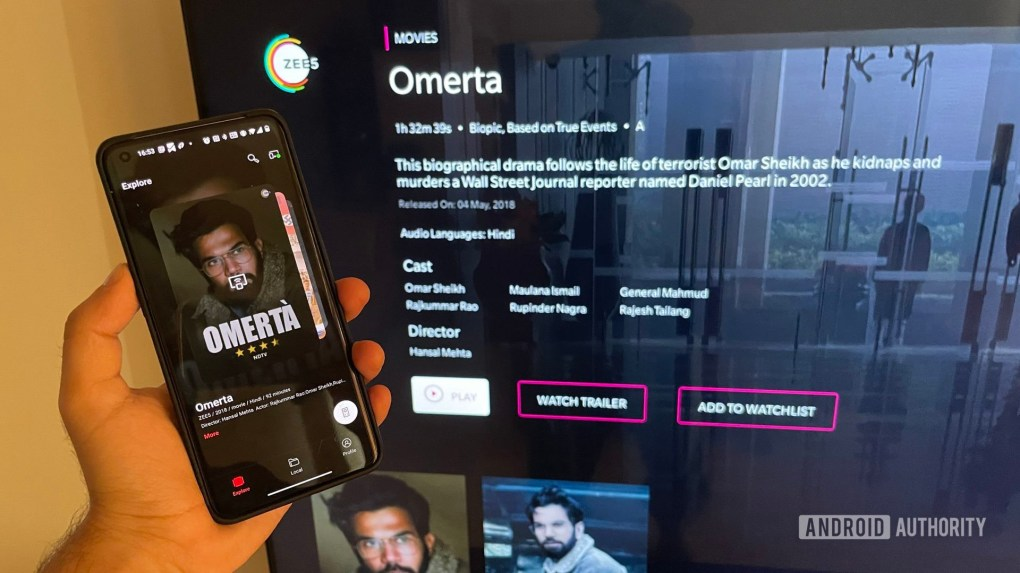 OnePlus TV U1S review OnePlus Connect app