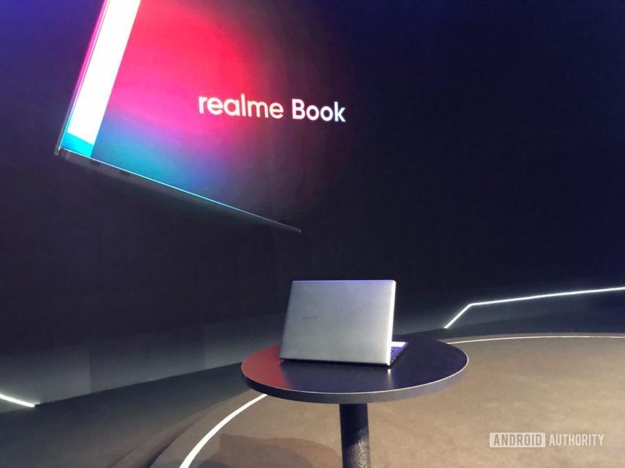 Realme Book BBK Electronics laptop on table