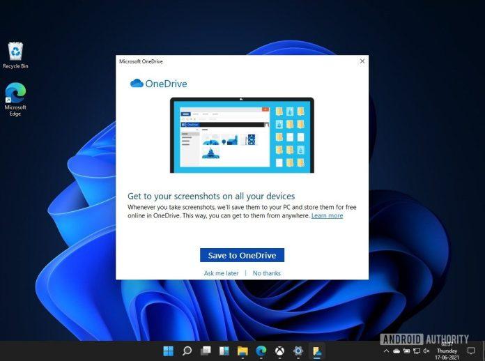 Windows 11 OneDrive integration