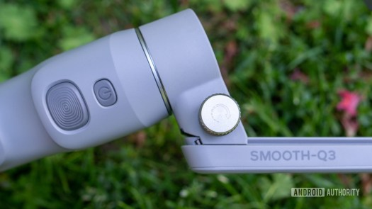 Zhiyun Smooth Q3 locking screw and buttons