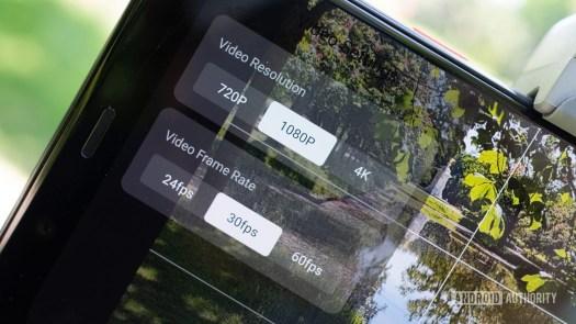 Zhiyun Smooth Q3 video settings