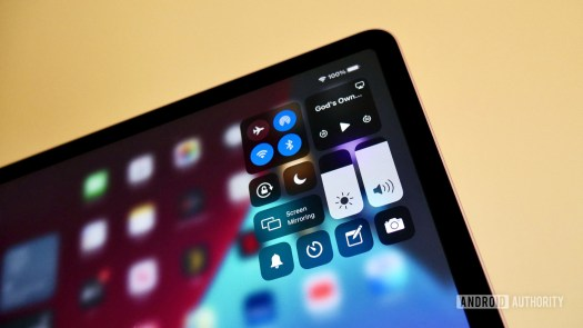 apple ipad air 2020 review control center