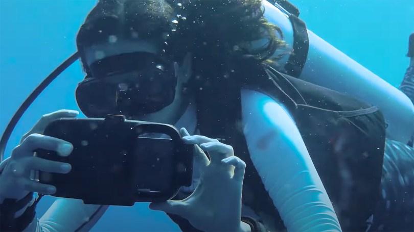 samsung galaxy s21 ultra underwater