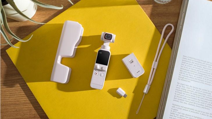 DJI Pocket 2 in Sunset White