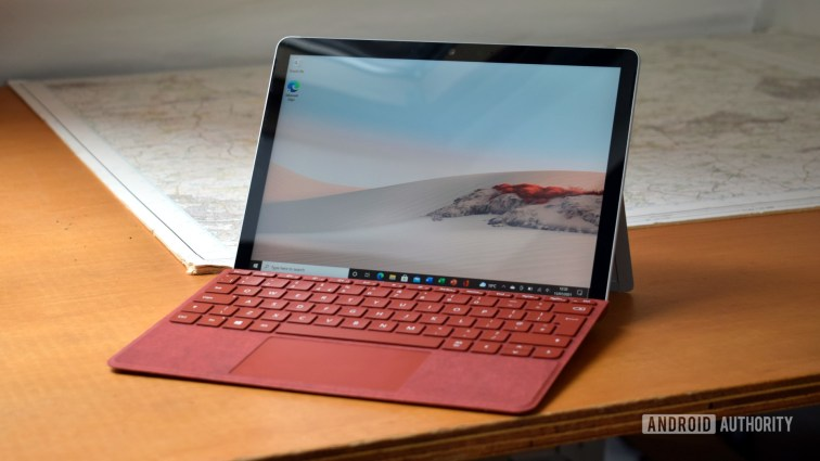 Microsoft Surface Go 2 review keyboard