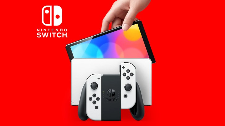 Nintendo Switch OLED Model Official