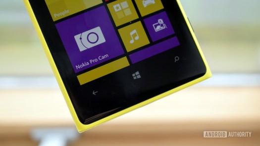 Nokia Lumia 1020 Pureview Windows button