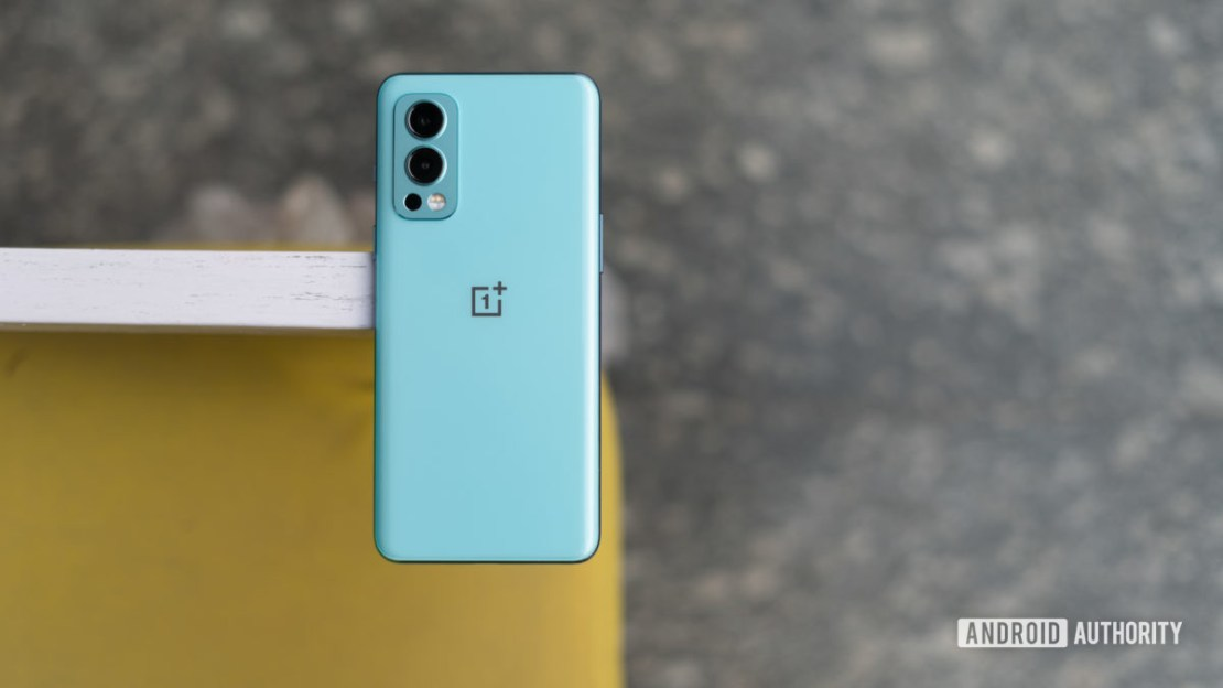 OnePlus Nord 2 review back of the phone