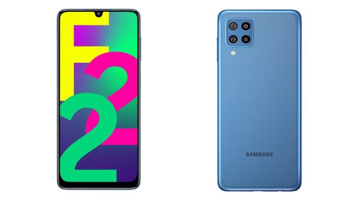 Samsung Galaxy F22 composite
