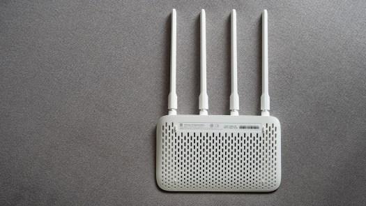 Mi Router 4A gigabit edition review back vents